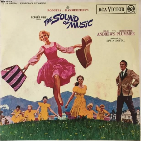 V/A - The Sound Of Music: An Original Soundtrack Recording (LP) (EX/VG-)